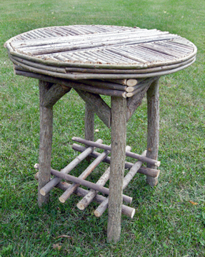 This Beautiful Willow Twig Round Table Is A Versatile Must Have Piece For  Any Backyard Or Patio.. Perfect For Serving, Or As An Accent Piece Between  Two Of ...