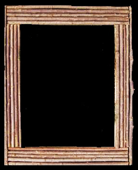 Item # 867- Traditional Twig Frame