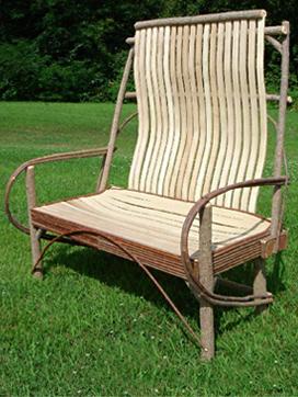 Item# 226 - Elegant Slat Love Seat